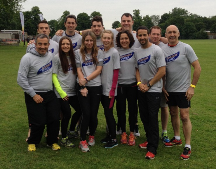 L-R Dafyyd, Mark, Louise, Rob, Lynn, Lochlainn, Ellie, Zahra, me, Phil and Peter aka #FitTeam14